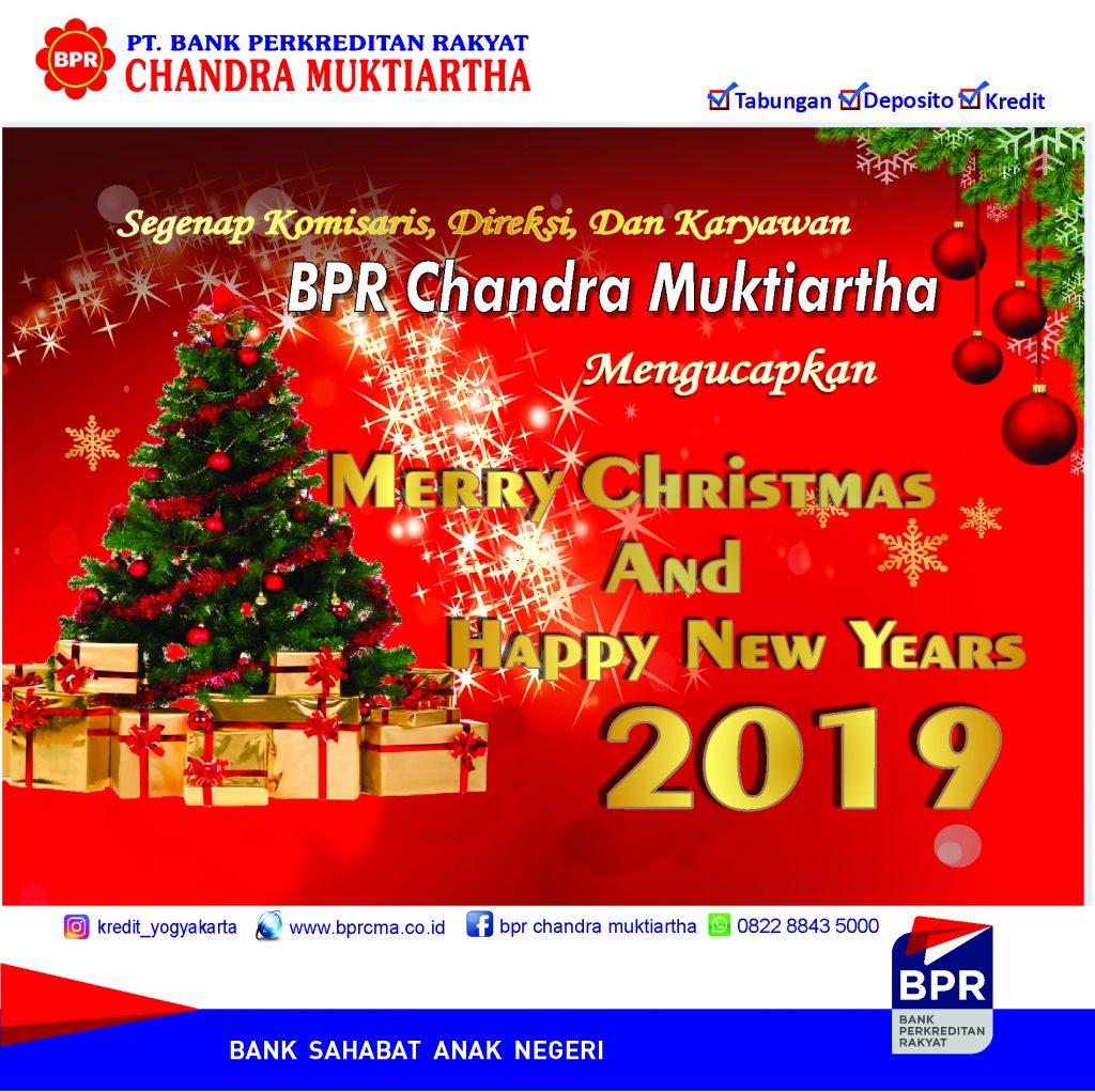 Selamat Hari Natal dan Tahun Baru 2019