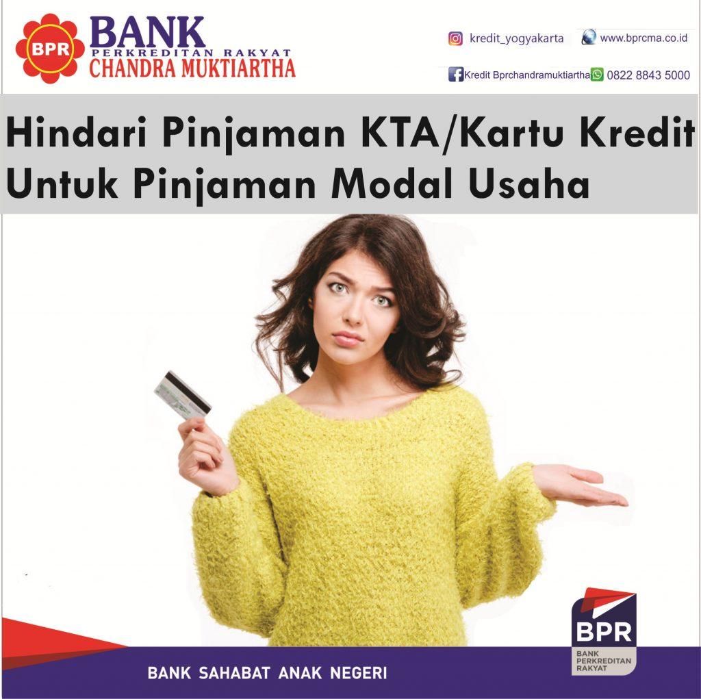 Hindari Pinjaman KTA Untuk Modal Usaha