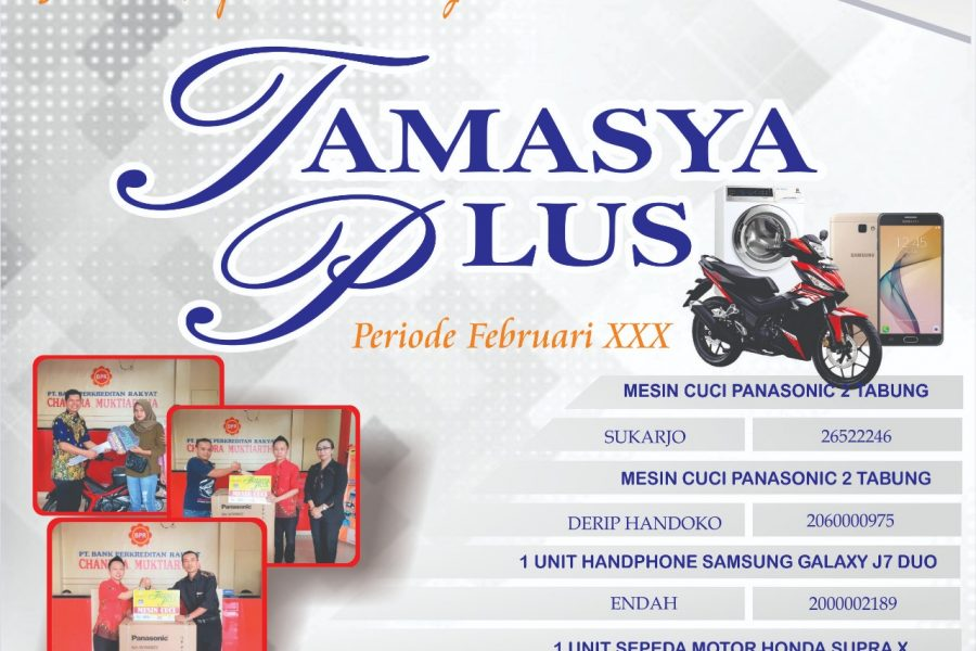 "Penyerahan Hadiah Tabungan Masyarakat Yogya ""Tamasya Plus"" Periode XXX"