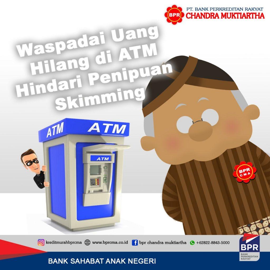 WASPADAI UANG HILANG DI ATM!