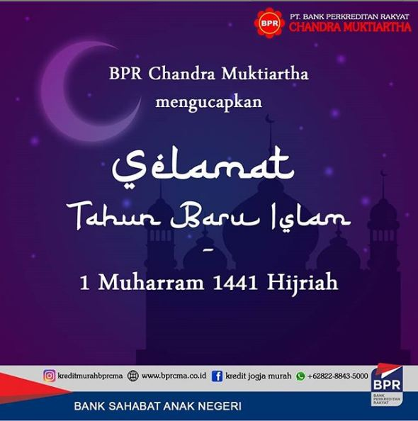 SELAMAT TAHUN BARU ISLAM 1 MUHARRAM 1441 HIJRIYAH
