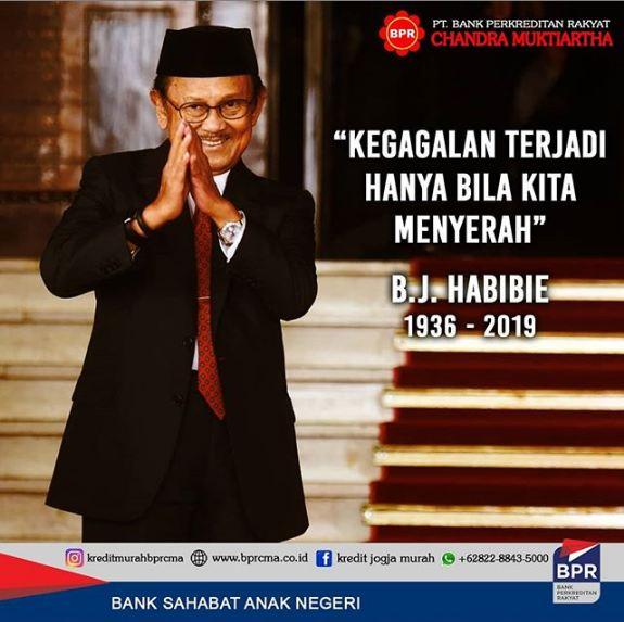 Presiden Ke 3 Bacharuddin Jusuf Habibie Tutup Usia Pada 11 September 2019