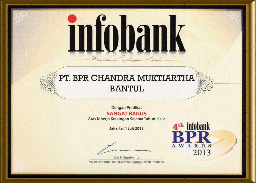 Penghargaan Info Bank 2013